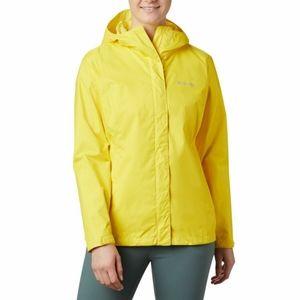 COLUMBIA Arcadia II Hooded Rain Jacket Yellow